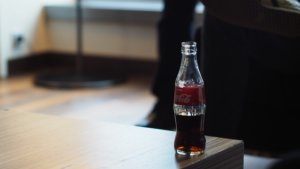 Garrafa de Coca-Cola