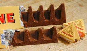 Toblerone marca tridimensional